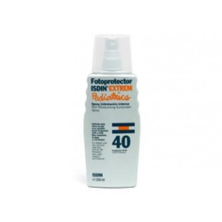 ISDIN FOTOPROTECTOR PEDIATRICO SPF40 LOTION SPRAY 200ML