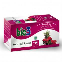 BIO 3 TE FRUTAS DEL BOSQUE 25 BOLSITAS DE 1,5 GR