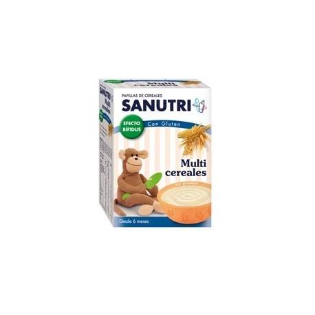 SANUTRI MULTICEREALES EFECTO BIFIDUS 600 GR