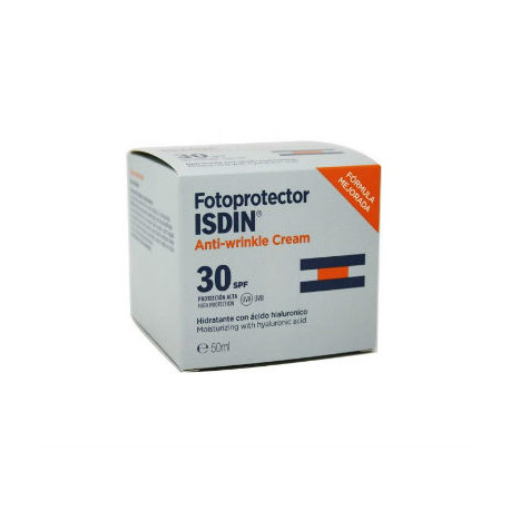 ISDIN FOTOPROTECTOR SPF30 CREMA FACIAL ANTIARRUGAS 50 ML