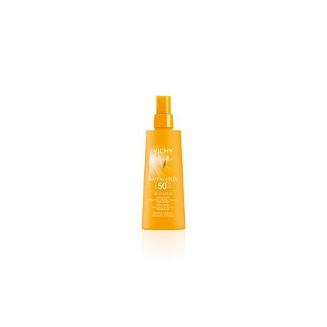 VICHY CAPITAL SOLEIL SPRAY SPF50+ 200ml (Regalo Aftersun 100ml)