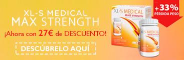 XLS Medical Max Strength con descuento