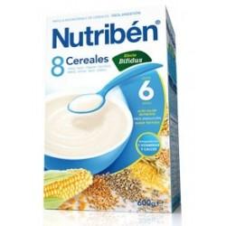 NUTRIBEN 8 CEREALES EFECTO BIFIDUS 600 GR