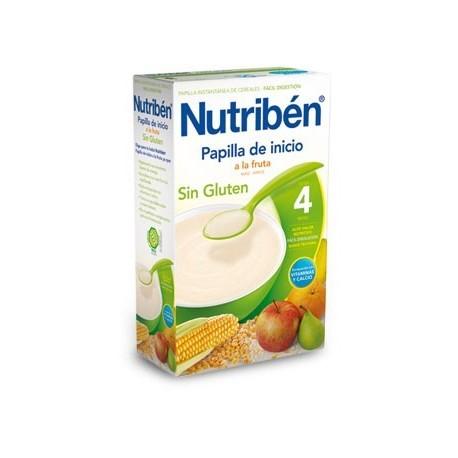 NUTRIBEN INICIO A LA FRUTA SIN GLUTEN 300 GR.