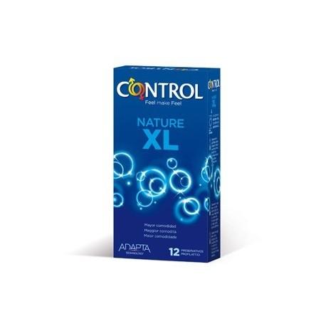 CONTROL PRESERVATIVO NATURE XL 12ud