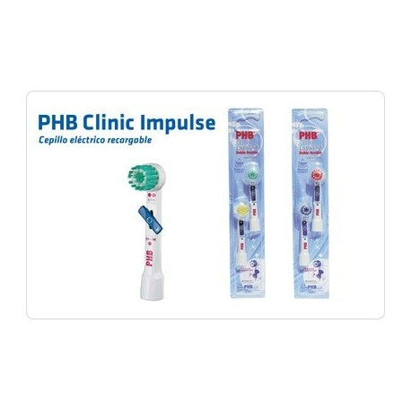 PHB CEPILLO DENTAL ELECTRICO CLINIC IMPULSE - RECAMBIOS 2 UD