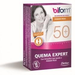 DIETISA BIFORM 50+ QUEMA EXPERT 24 CAPSULAS