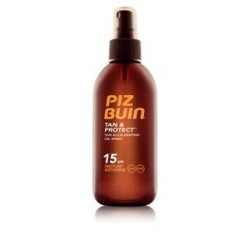 PIZ BUIN BRONCEADO OIL SPRAY SPF15 150ML