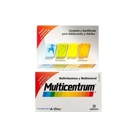 MULTICENTRUM ADULTOS 30 COMPRIMIDOS
