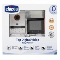 CHICCO BABY MONITOR VIDEO DIGITAL TOP NEW