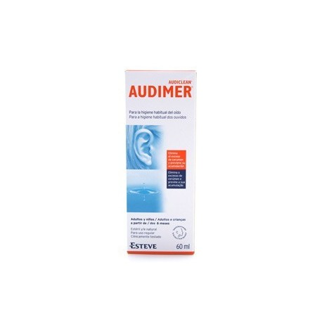 AUDIMER LIMPIEZA DIARIA AUDITIVA 60ML