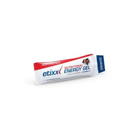 ETIXX ENERGY GEL NUTRITIONAL COLA 38GR