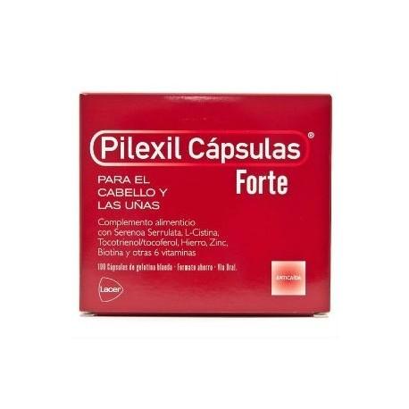 PILEXIL FORTE ANTICAIDA 100 CAPSULAS + 20 capsulas GRATIS