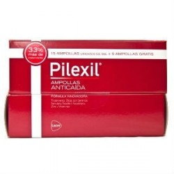 PILEXIL AMPOLLAS ANTICAIDA 15x5ml