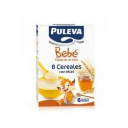 PULEVA BEBE 8 CERALES CON MIEL BIFIDUS 500GR