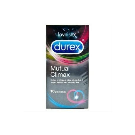 DUREX PRESERVATIVO MUTUAL CLIMAX 12UD