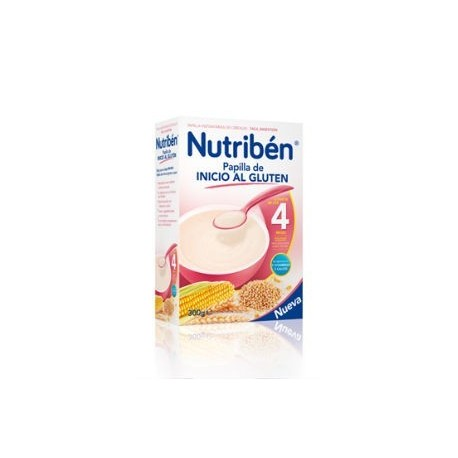 NUTRIBEN PAPILLA INICIO AL GLUTEN 300GR