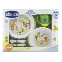 CHICCO SET COMIDA 12M+ GREEN