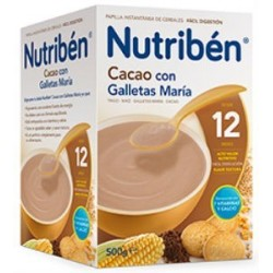 NUTRIBEN CACAO CON GALLETA MARIA 500GR