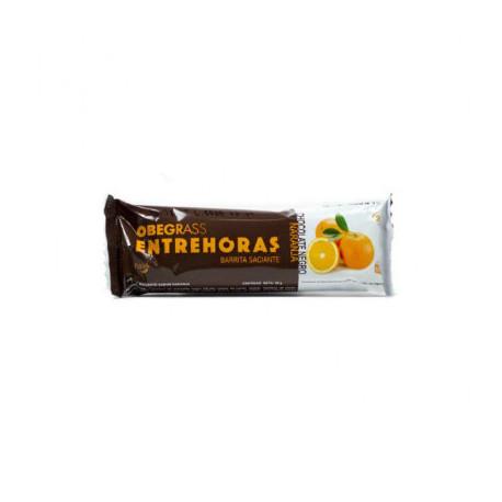 OBEGRASS BARRITAS ENTREHORAS CHOCOLATE NEGRO CON NARANJA 1ud
