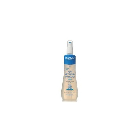 MUSTELA AGUA DE COLONIA SIN ALCOHOL 200 ML.