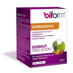 DIETISA BIFORM QUEMALIP DOBLE ACCION 60 CAPS.