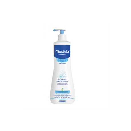 MUSTELA BABYGEL 750 ML.