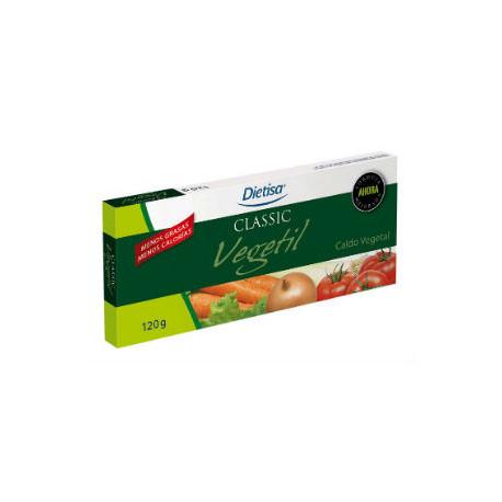 DIETISA VEGETIL CALDO DESHIDRATADO (12 cubitos)