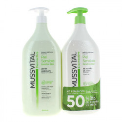DERMACTIVE GEL SENSIBLE 1000ml+Leche 1L
