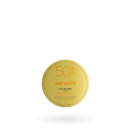 SENSILIS SUN SECRET MAQUILLAJE COMPACTO SPF50+ GOLDEN 10gr
