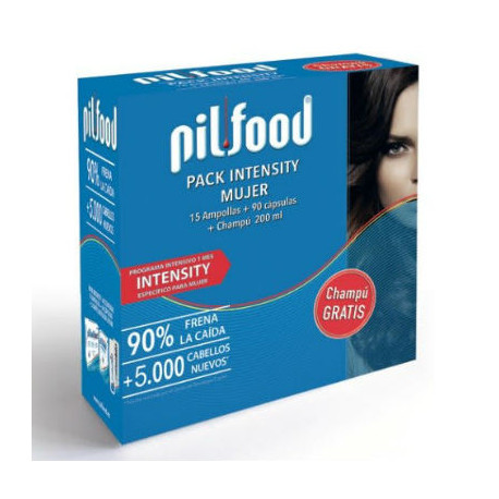 PILFOOD INTENSITY-15 amp+90 caps+ch 200