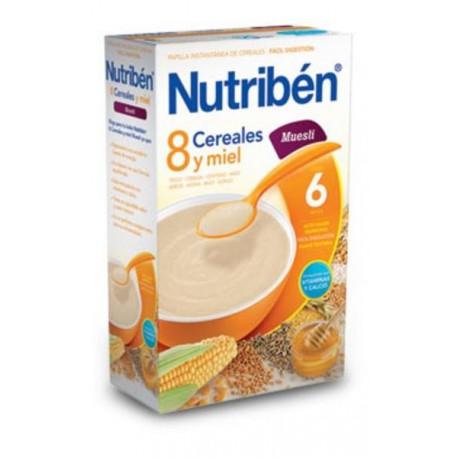 NUTRIBEN 8 CEREALES Y MIEL MUESLI 600 GR