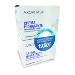 AXOVITAL CREMA HIDRATANTE PIEL NORMAL/MIXTA-DUPLO 2x50ML