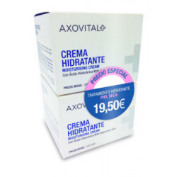 AXOVITAL CREMA HIDRATANTE PIEL SECA-DUPLO 2x50ML