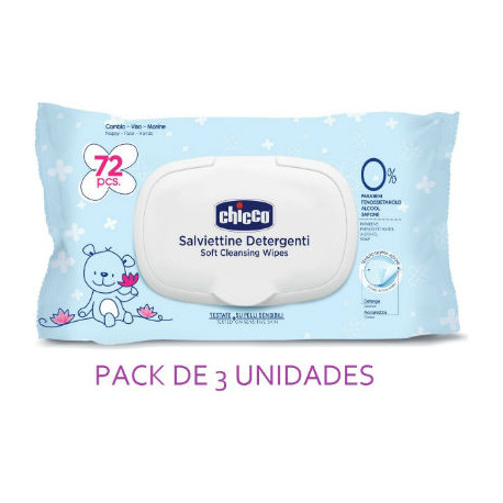 BABY M. TOALLITAS 3x72ud - TRIO - CHICCO