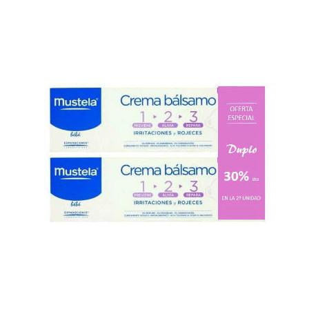 MUSTELA CREMA BALSAMO 1-2-3 100 ML - DUPLO