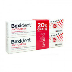 BEXIDENT ANTICARIES PASTA 2x125ml-DUPLO