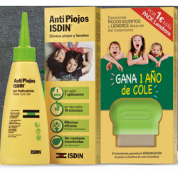 ISDIN ANTIPIOJOS GEL 100ml + LENDRERA
