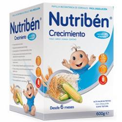 NUTRIBEN CRECIMIENTO C/LECHE ADAP. 600gr