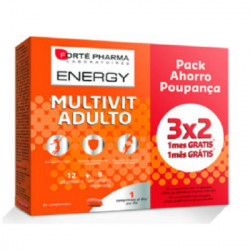 FORTE PHARMA ENERGY MULTIVIT ADULTO 84comp-PACK 3x2