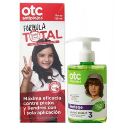 OTC ANTIPIOJOS FORMULA TOTAL 125ML + CHAMPU PROTECT 300 ML