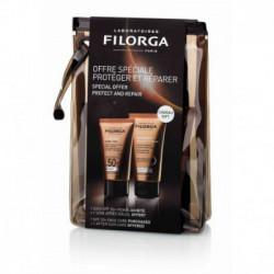 FILORGA UV-BRONZE SET(facial 40ml+aft.50