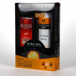 HELIOCARE PACK GEL 90 + SPRAY INVISIBLE
