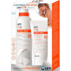 LETI AT-4 DEFENSE FACIAL+SPRAY SPF50+
