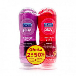 DUREX MASSAGE 2 EN 1 ALOE VERA + ESTIMULANTE 2x200ML
