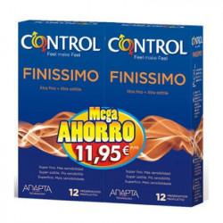 CONTROL PRESERVATIVO FINISSIMO 12+12-MEGA AHORRO