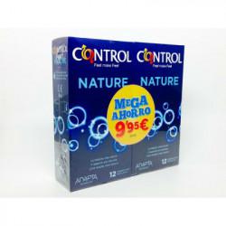 CONTROL PRESERVATIVO NATURE 12+12 - MEGA AHORRO