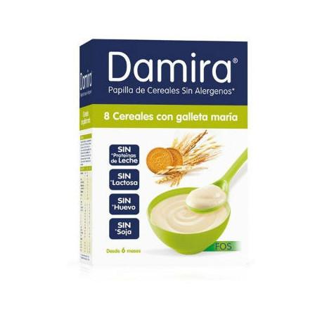 DAMIRA 8 CEREALES GALLETAS MARIA 600GR