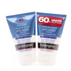 NEUTROGENA MANOS DUPLO ANTIEDAD 50ml+50ml
