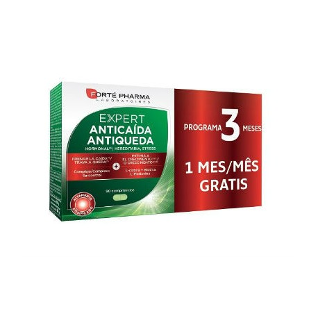 FORTE PHARMA EXPERT ANTICAIDA 90comp - 2+1 mes gratis